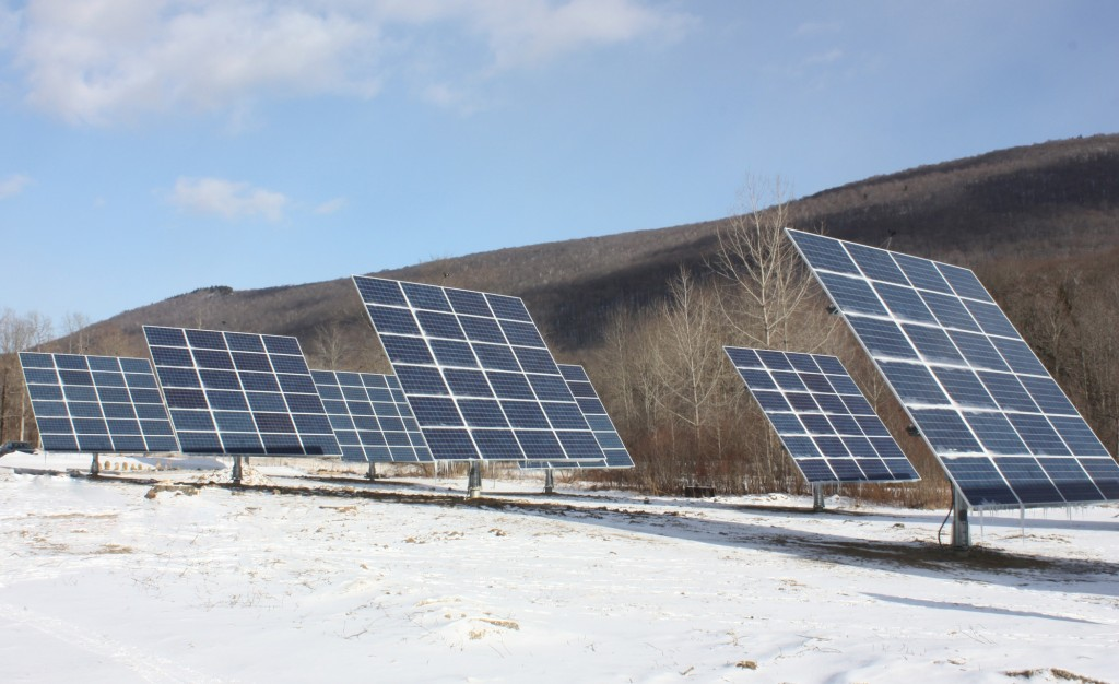 Bistro Henry's 60kW PV system is producing power for the restaurant, inn and the Bronson household -- Manchester, VT