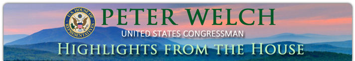 peter welch banner