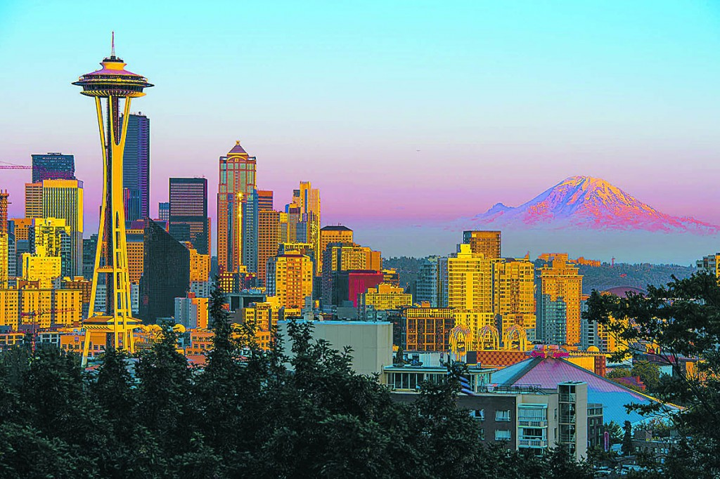 Some consider Seattle and the rest of the Pacific Northwest to be a potential refuge for Americans looking to escape drought-stricken southern states. Credit: Howard Ignatius, FlickrCC