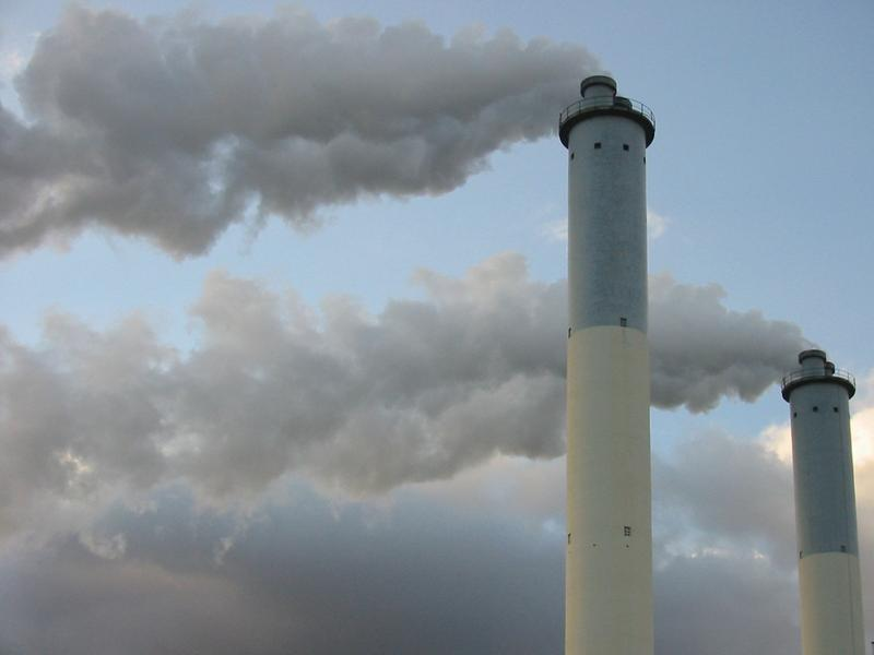 Smoke stacks. Photo: Jon Sullivan / Flickr
