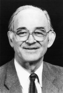 Bert Bolin (1925-2007) a world leading climate scientist and science organizer. He is the man who got the world to agree on climate. Photo: simpleclimate.wordpress.com.