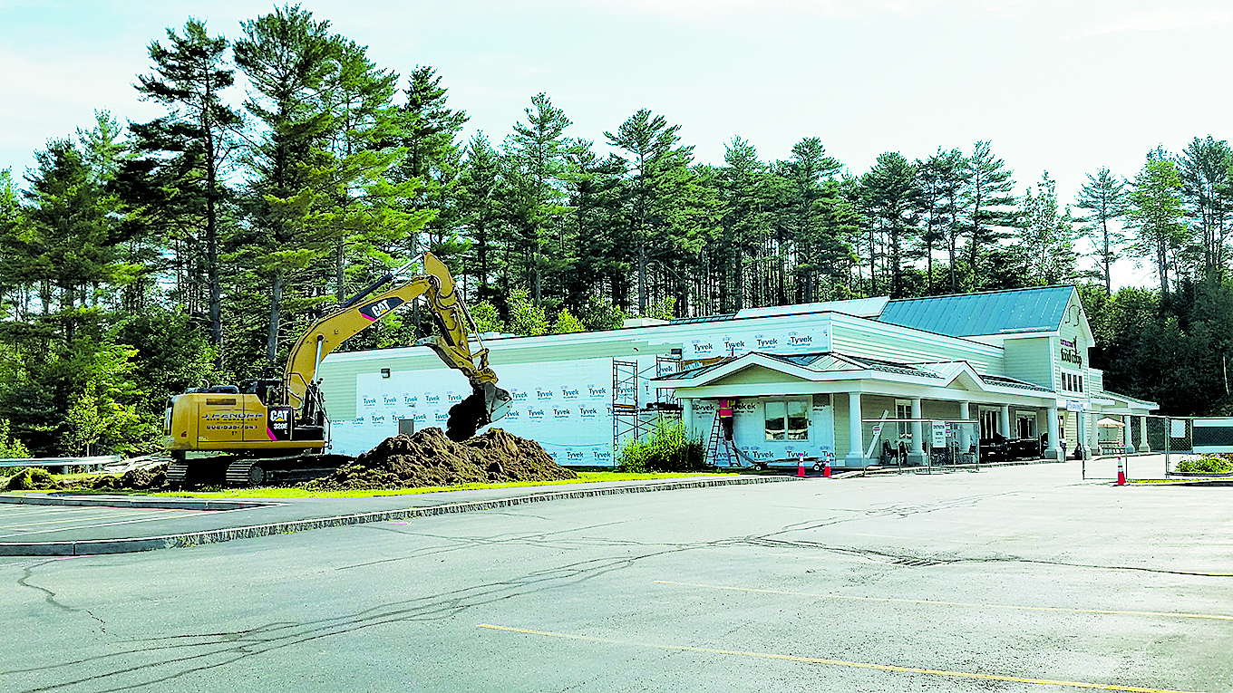 The Littleton Food Co-op begins construction on their 3.3 million dollar expansion project which will add 9,500 square feet of community and retail space to the current store. Photo: Minnie Cushing