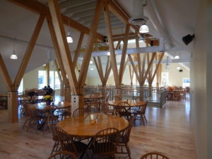 Interior of the dining commons. Photos courtesy Maclay Architects, Waitsfield, VT