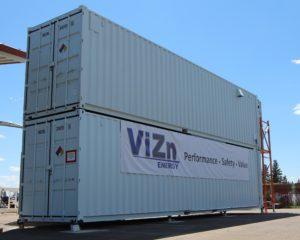 ViZn Energy's GS200 Flow Battery in the field