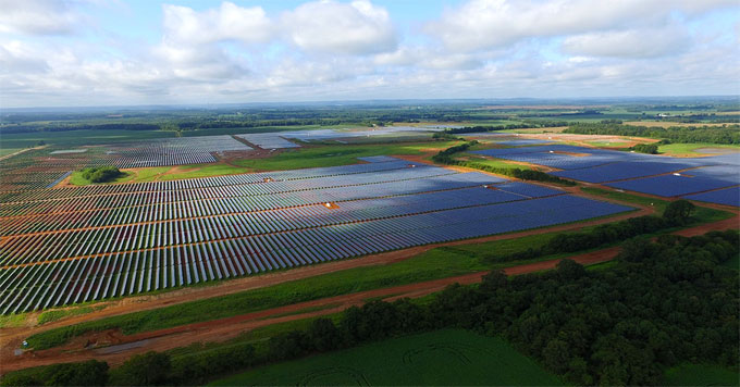 River Bend solar farm (TVA photo)