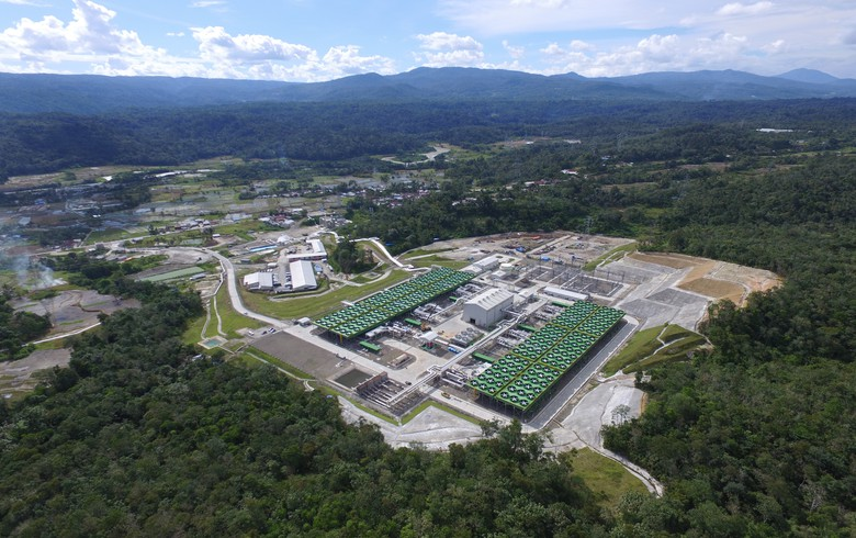 Sarulla geothermal plant (Toshiba photo)