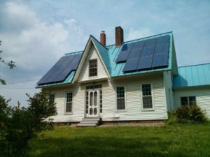 Solar Source - 5.5 kW solar PV system, Cornish, NH.