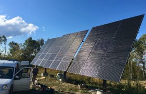 North Haverhill, NH: 12.8 kW off-grid system.