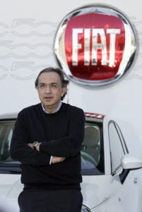 Sergio Marchionne with Fiat. Wikipedia.org