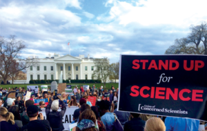 The March for Science in Washington, D.C. on Earth Day, 2017. Photo source: Union of Concerned Scientists (UCS), www.ucsusa.org