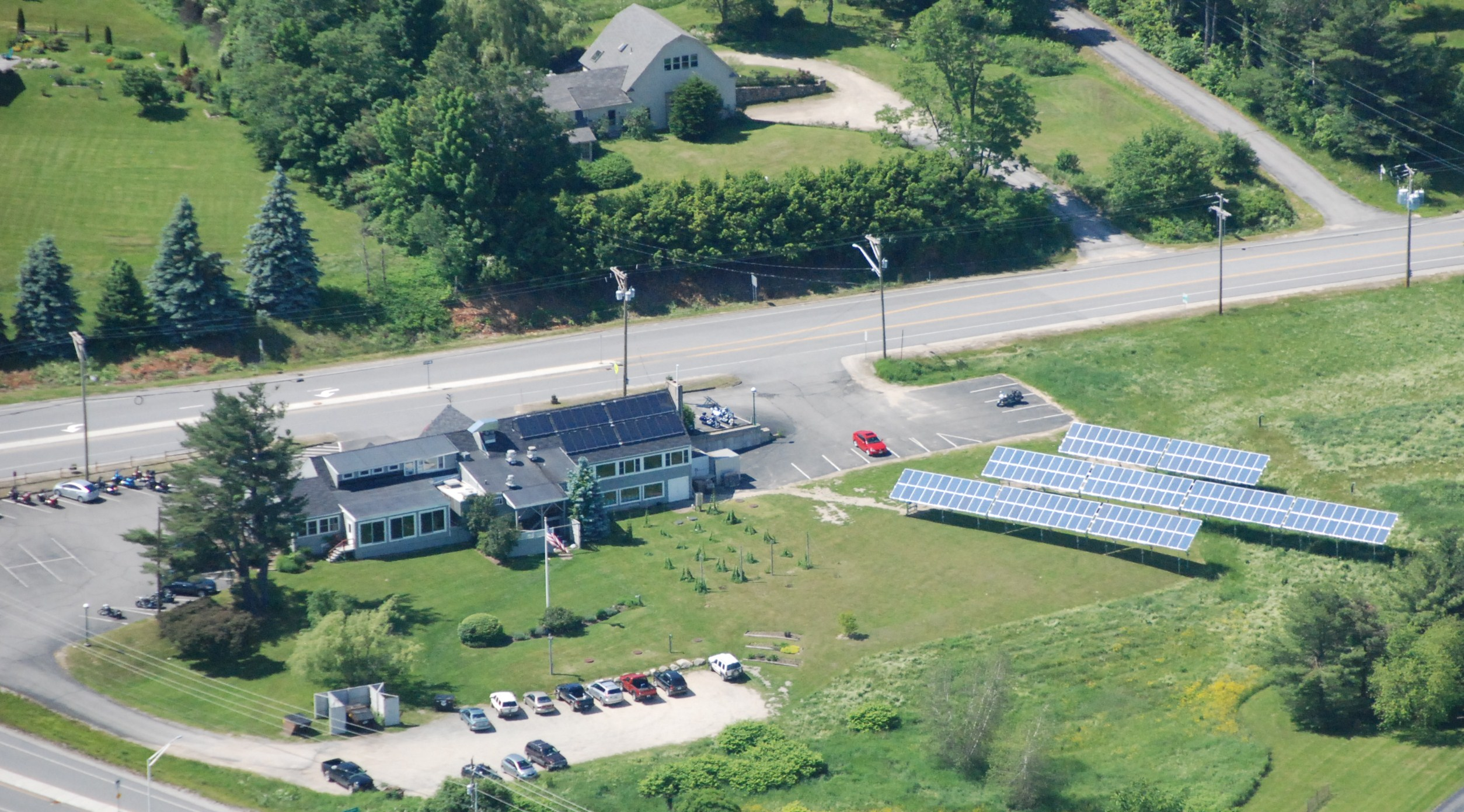 The Flying Goose Brew Pub & Grille is NH's first solar-powered brewery. Courtesy photo.