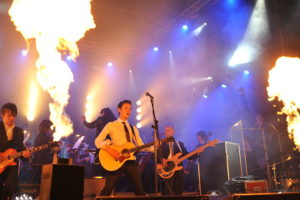 Rock concert fire show—Les Panchyshyn. Image from Wikimedia Commons