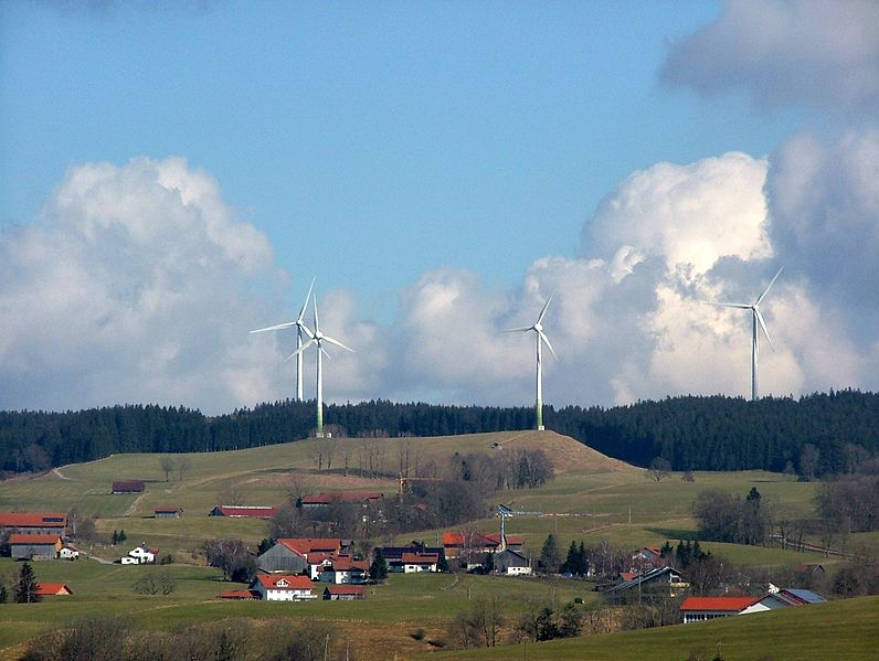 Windpark Wildpoldsried (Richard Mayer, Wikimedia Commons)