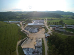 A mid-summer evening at the main Newmont Farm location in Bradford, VT. Image courtesy of Newmont Farm